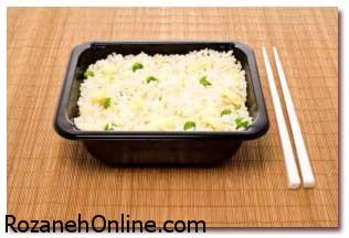 دستور پخت برنج چینی همراه با کلم سفید