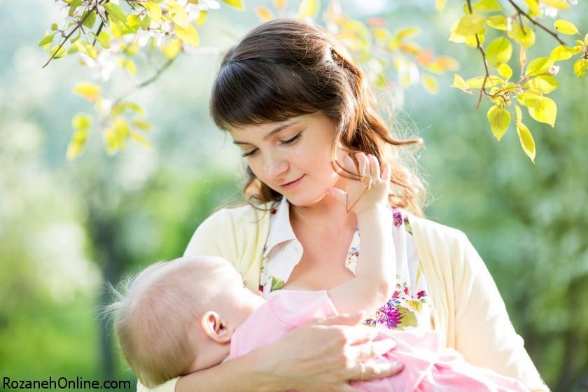 شیر مادر و افزایش سلامتی شیرخوار