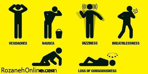 مسمومیت و خطر مرگ