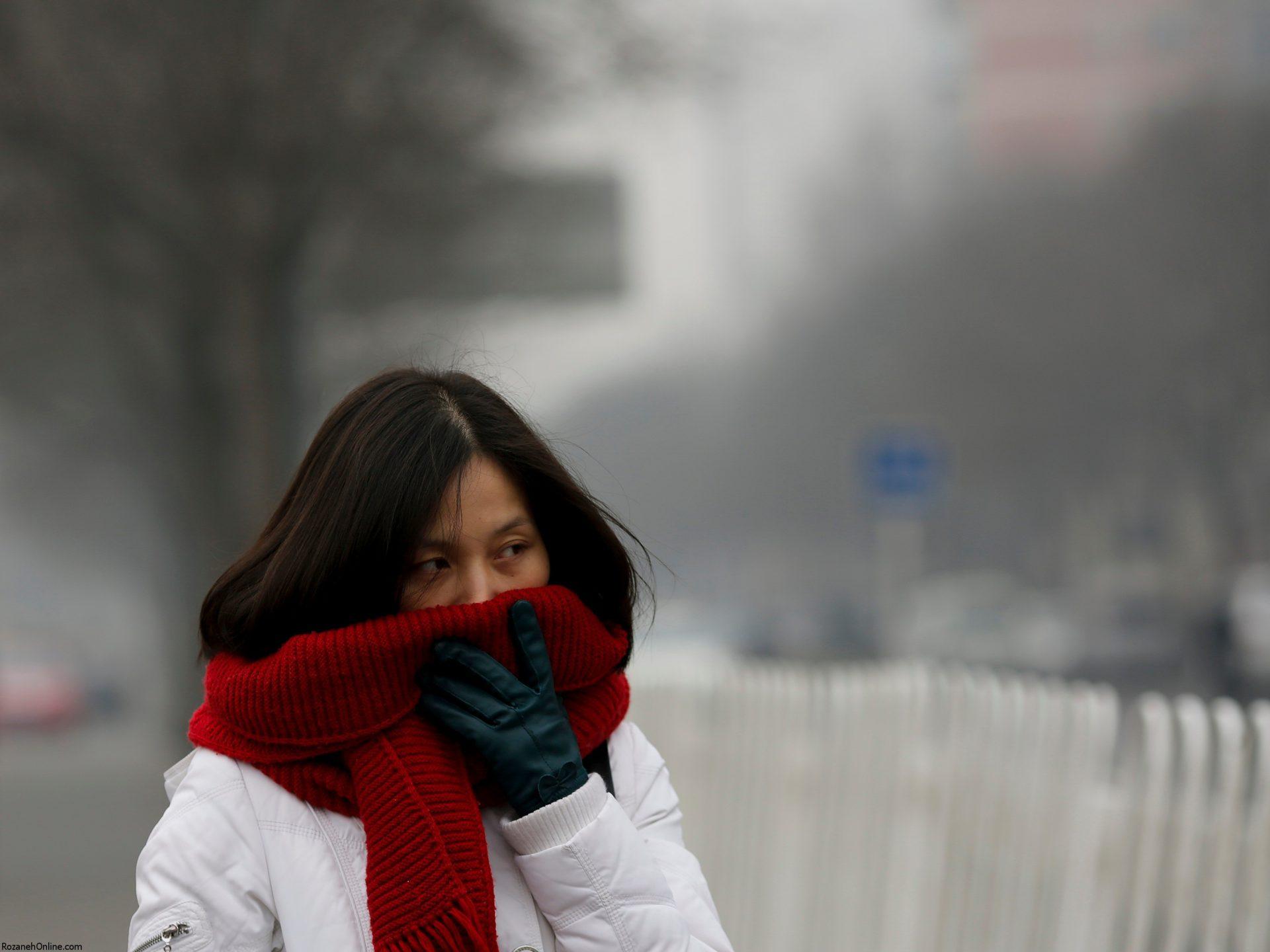 انواع آسیب های پوستی با آلوده شدن هوا
