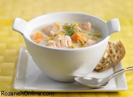 از مصرف سوپ سالمون غافل نشوید