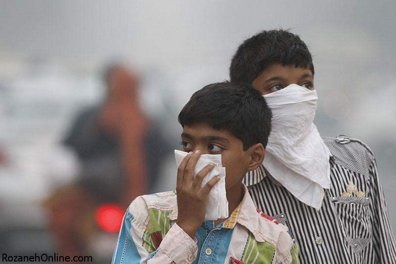 تشدید آسم و بیماری ریوی با هوای آلوده