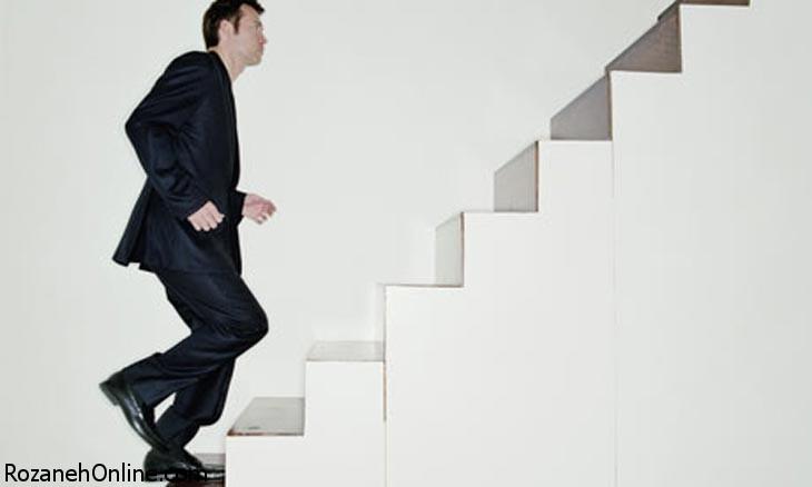 تاثیر استفاده از پله و سوزاندن هر چه سریعتر کالری ها