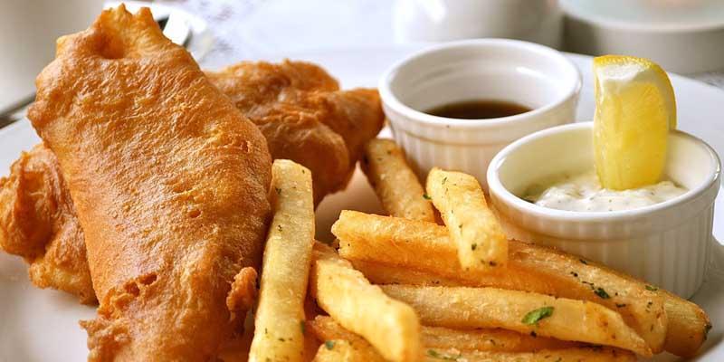 دستور پخت فیش اند چیپس یک غذای معروف انگلیسی