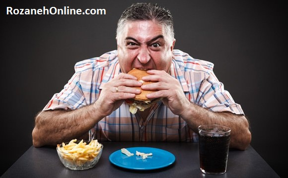 عادات بد غذا خوردن علت اصلی چاق شدن و بروز اضافه وزن