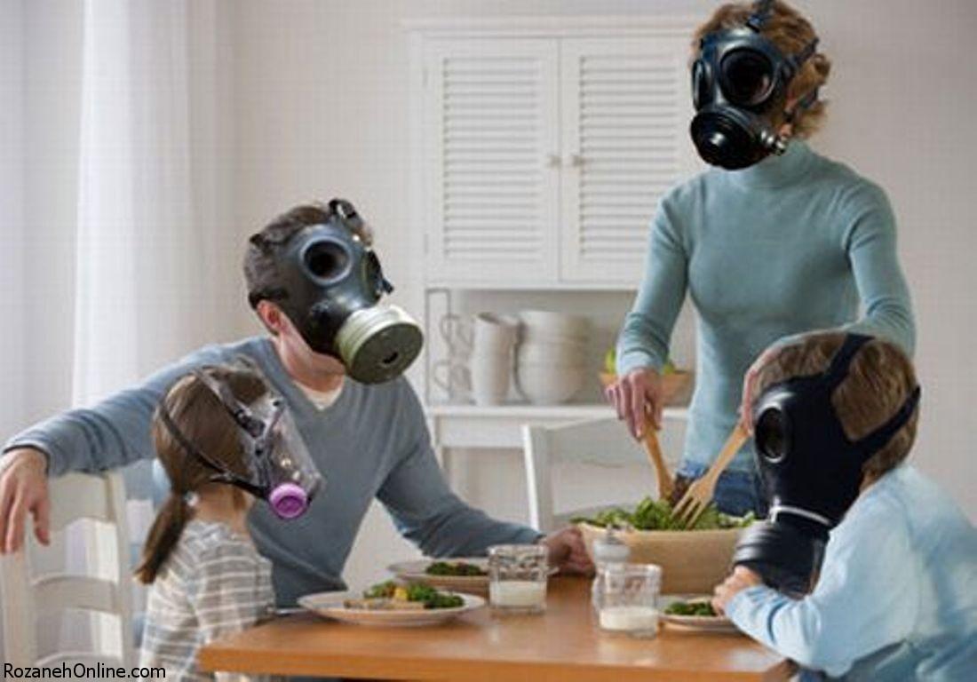 تنفس در فضای داخل خانه