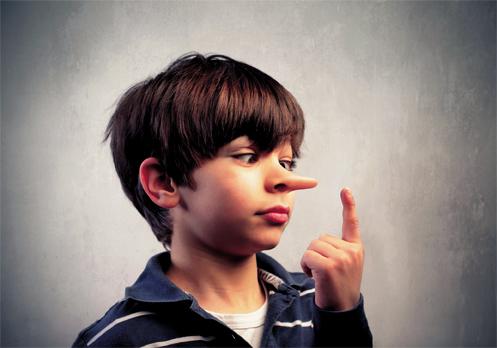 مقابله با دروغ در کودکی