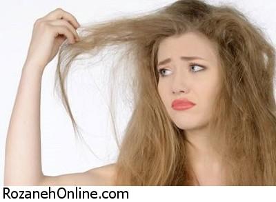 مراقبت از موهای خشک و شکننده + نرم کردن موی خشک