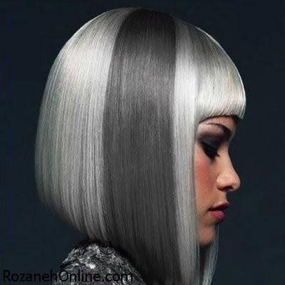 سفید و خاکستری کردن مو با آموزش حرفه ای در زیر