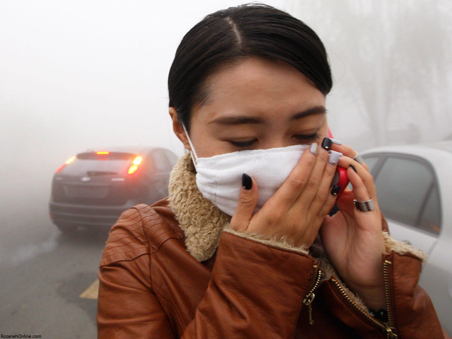 آلودگی هوا و ایجاد بیماری مزمن در جنین