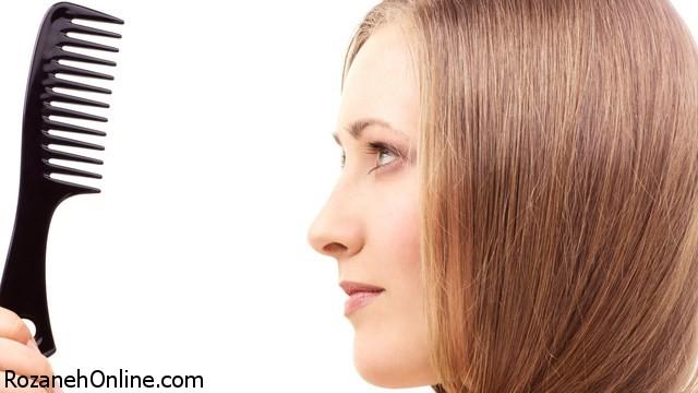 علت ریزش مو بعد از زایمان + درمان خانگی ریزش مو