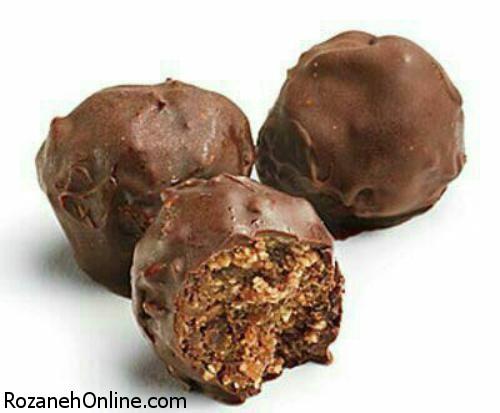 طرز تهیه شکلات خرمایی + خواص بیشمار خرما