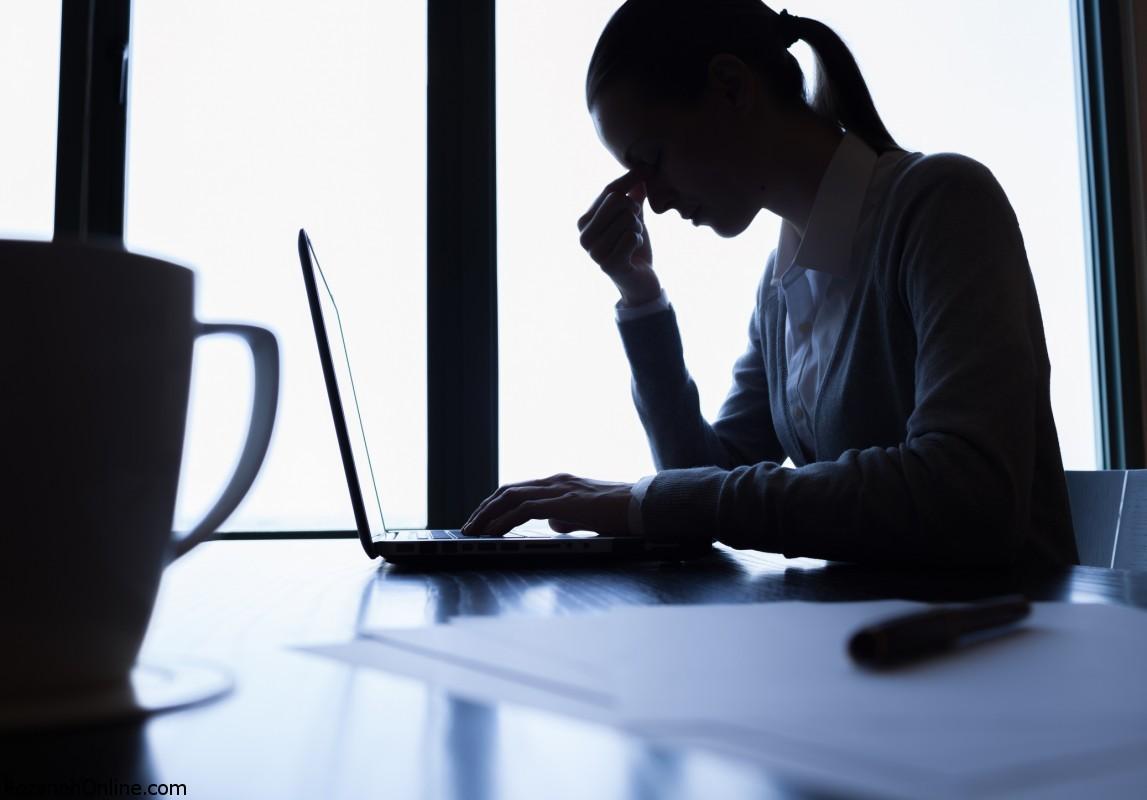 علائم استرس مخفی در رفتارها