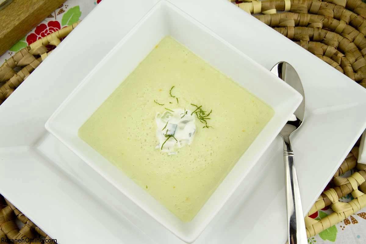 دستور پخت سوپ خربزه و زنجبیل سوپی بسیار مقوی