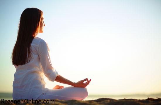 تاثیر حرکات یوگا در کاهش استرس و وزن