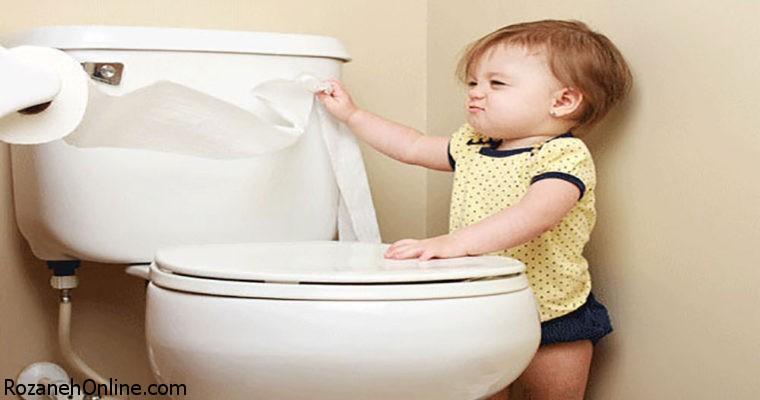 دستشویی رفتن به تنهایی