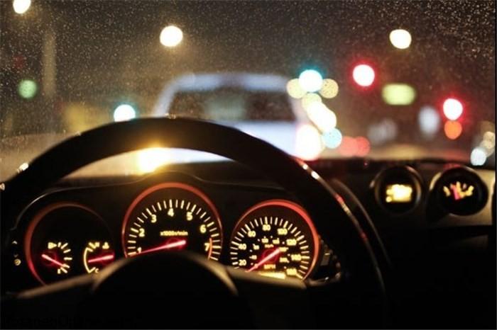 از رانندگی در طول شب بپرهیزید