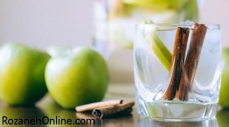 خاصیت های درمانی معجون آب سیب با دارچین