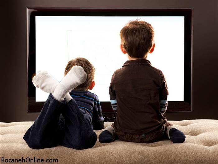 افزایش سایز دور کمر اطفال با نشستن پای تلویزیون