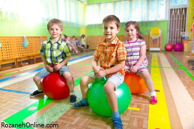 ورزش و آمادگی جسمانی کودکان