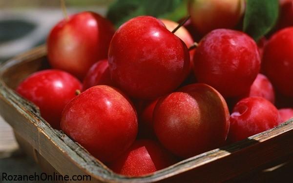 تصاویر زیبا و عکس های میوه سیب قرمز، زرد، سبز
