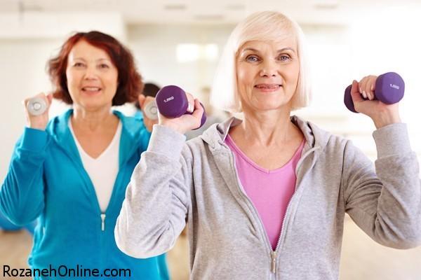 تاثیر آمادگی بدن برای ورزش در افراد مسن