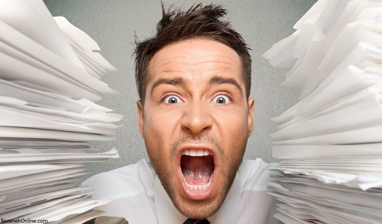 با استرس شغلی در معرض سکته مغزی قرار خواهید گرفت