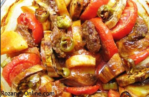 بجای تاس کباب خوراک تاس گیاه درست کنید!