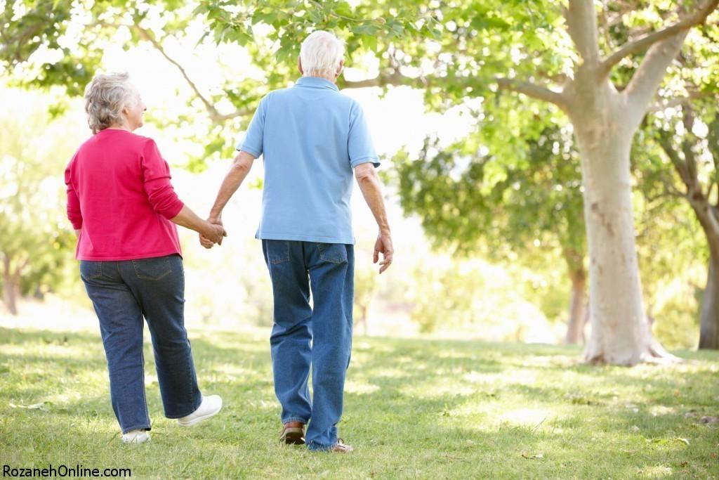شرکت سالمندان در کارهای گروهی
