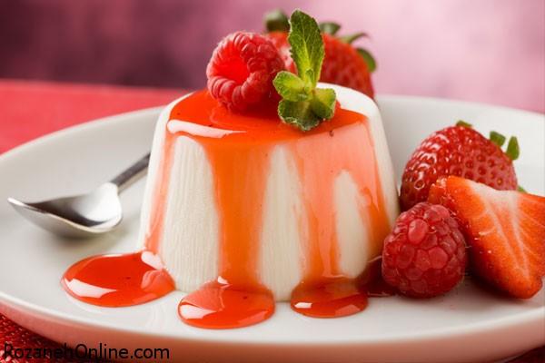 طرز تهیه دسر توت فرنگی خوشمزه ترین نوع دسر