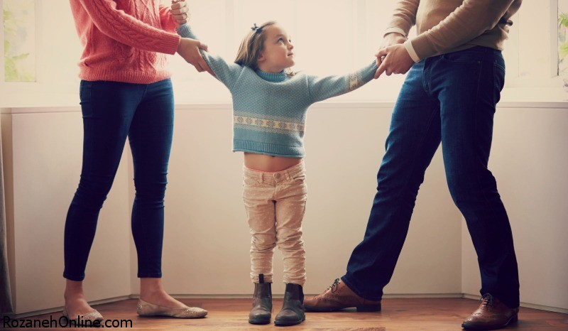 مراقبت از کودک در دوران جدایی