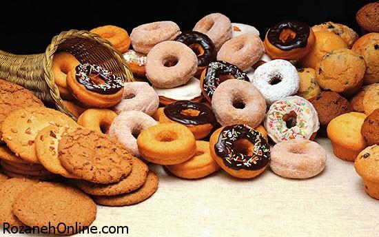 در مصرف مواد غذایی شیرین دقت کنید