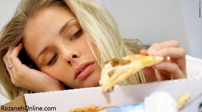 عوارض شکل گرفتن برخی عادت های غذایی