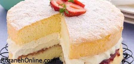 متفاوت ترین و جدیدترین دستور پخت کیک اسفنجی