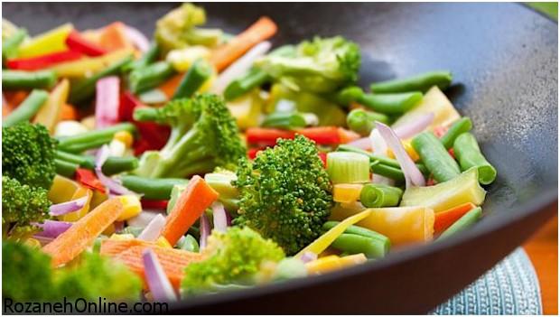 طرز تهیه غذای گیاهی با روش و سبک گیاهخواران