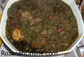 جایگزین کردن سویا در خورش قورمه سبزی بدون گوشت!