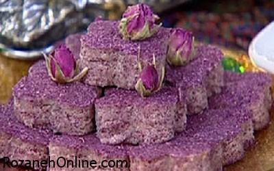 طرز تهیه حلوای گل سرخ ویژه افطار + خواص گل سرخ