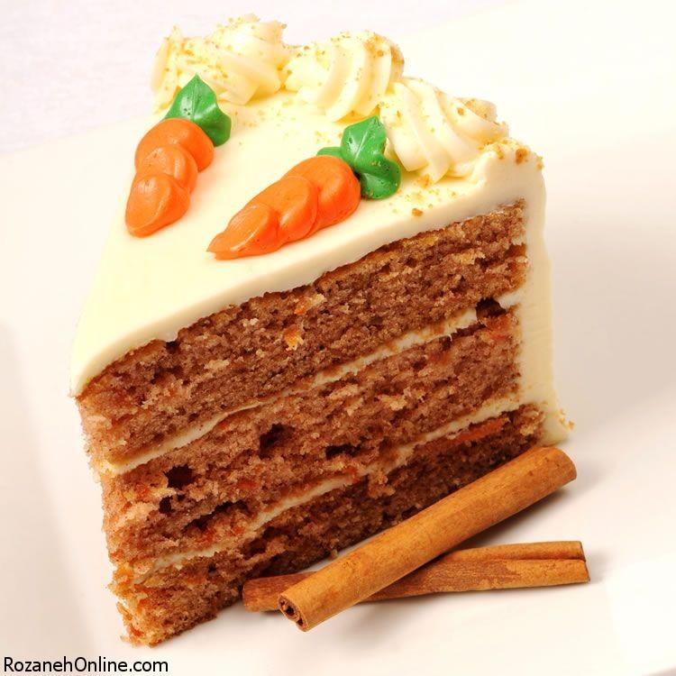 طرز تهیه کیک هویجی پرگردو ویژه درمان دیابت