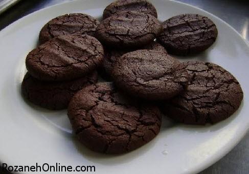 آموزش پخت کلوچه شکلاتی زنجبیلی ویژه عصرانه