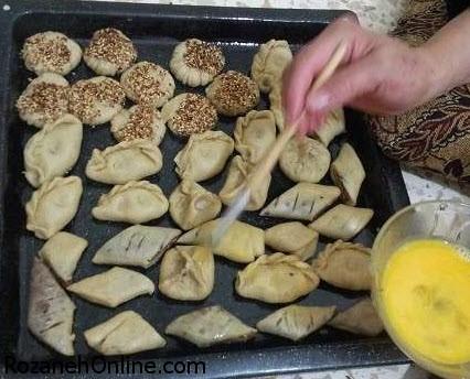 طرز تهیه شیرینی کلیجه شیرینی عید فطر عراقی ها