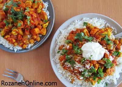 طرز تهیه کاری سبزیجات رژیمی در منزل به سبک رستورانی