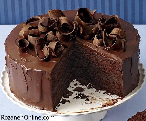چگونه یک کیک شكلاتی فوری برا عصرانه تهیه کنیم؟