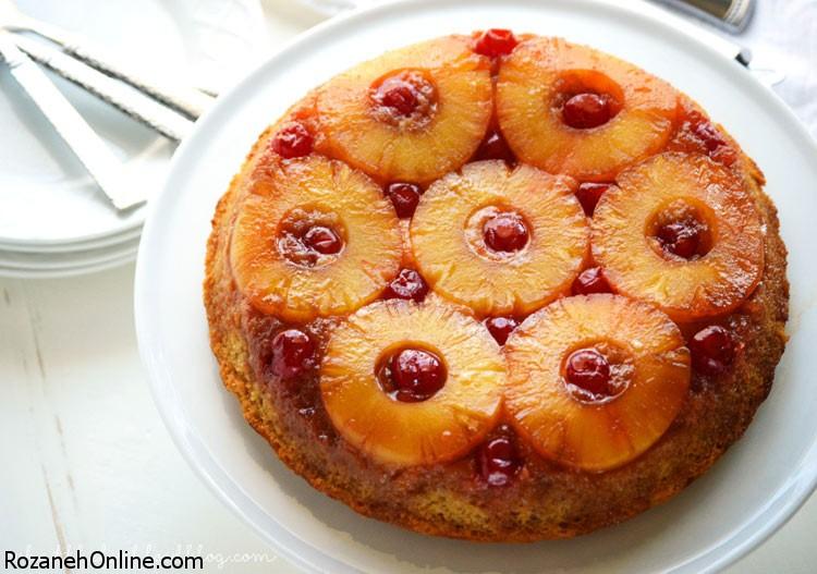 طرز تهیه کیک آناناس و گردو مقوی ترین کیک ویژه کودکان
