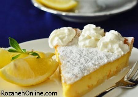 طرز تهیه کیک لیمو ترش و شیرین یک عصرانه تابستانی