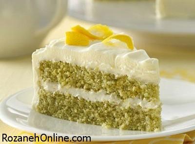 طرز تهیه کیک لیمویی طبق دستور مارتا استورات