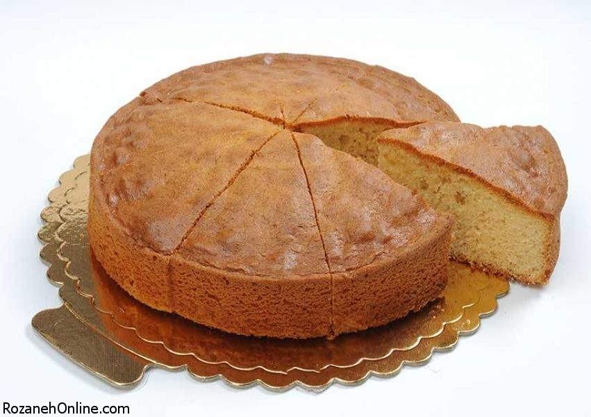 آموزس ساده ترین و راحت ترین کیک عصرانه