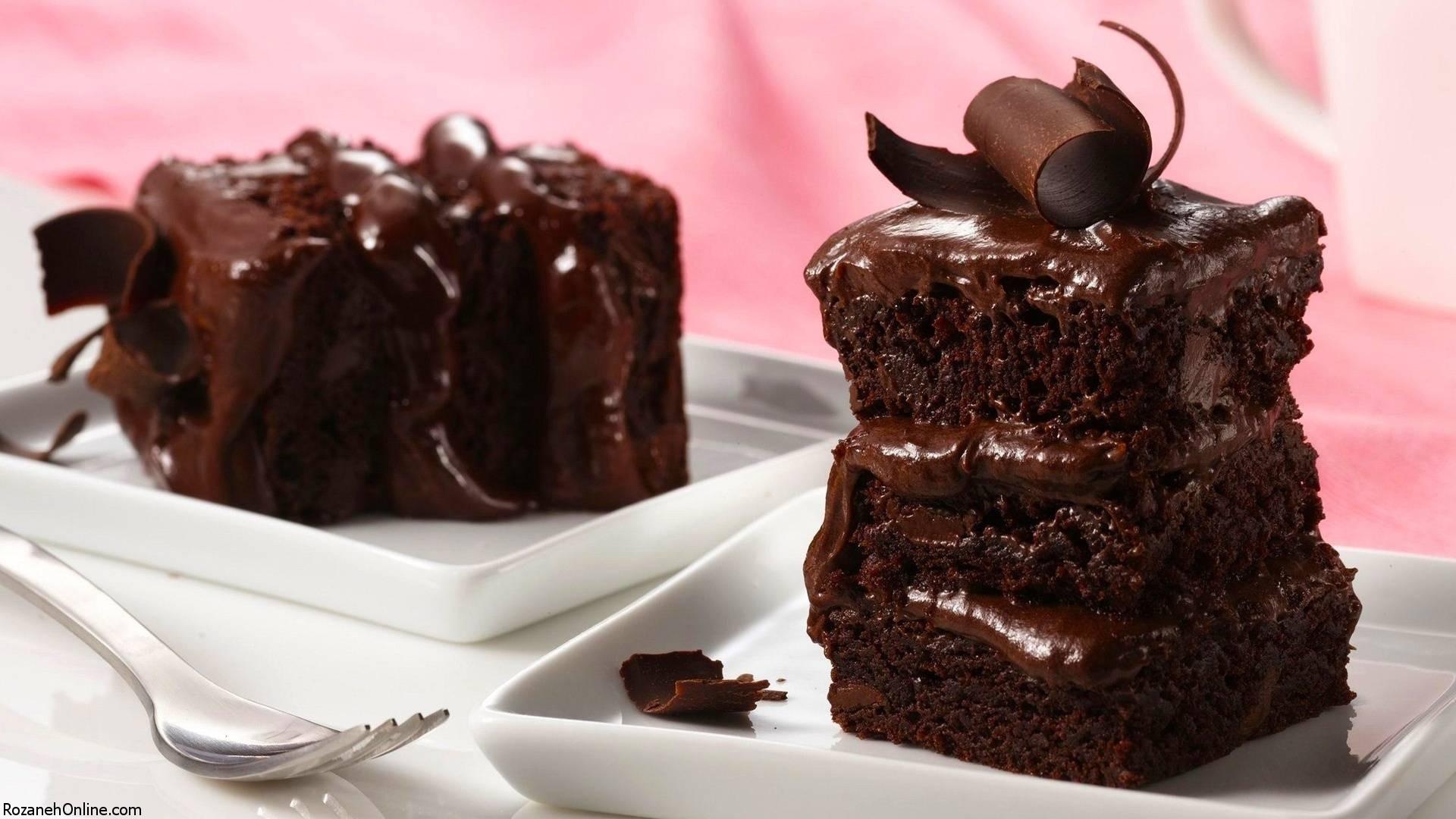 آموزش پخت کیک شکلاتی در نیم ساعت
