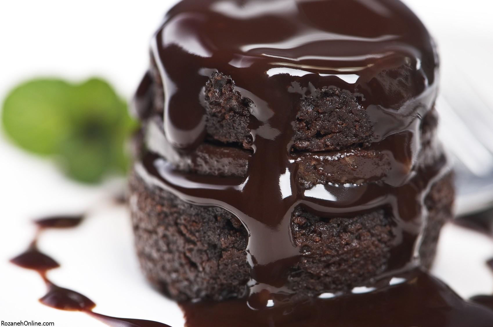 آموزش کیک شکلاتی بسیار آسان ویژه خانم های شاغل