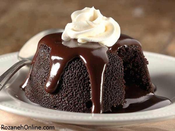 دستور پخت بسیار راحت کیک شکلاتی با مایکروفر