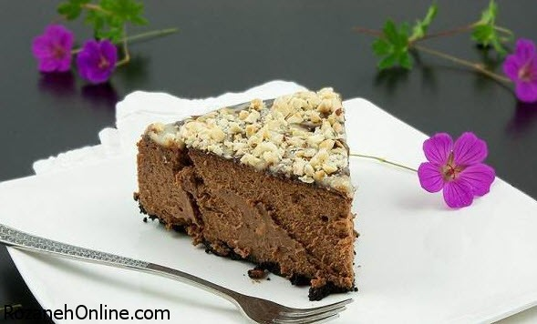 طرز تهیه کیک یخچالی ویژه عصرانه همراه با چای داغ